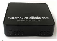 hot selling DVB-S2+SKS+IKS+WiFi+Dlna+Youtube+2 Tuner+Multimedia satellite tv receiver