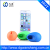 Creative Silicone Stand Rubber Loud Silicone Speaker for Iphone Speaker