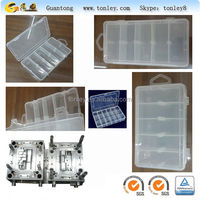 PP/PS transparent plastic tooling box injection mould