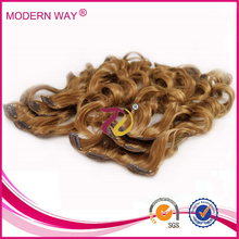 AAAAA grade wholesale Clip In Synthetic Hair Fringe clip on synthetic hair bangs clip in hair fringe bangs