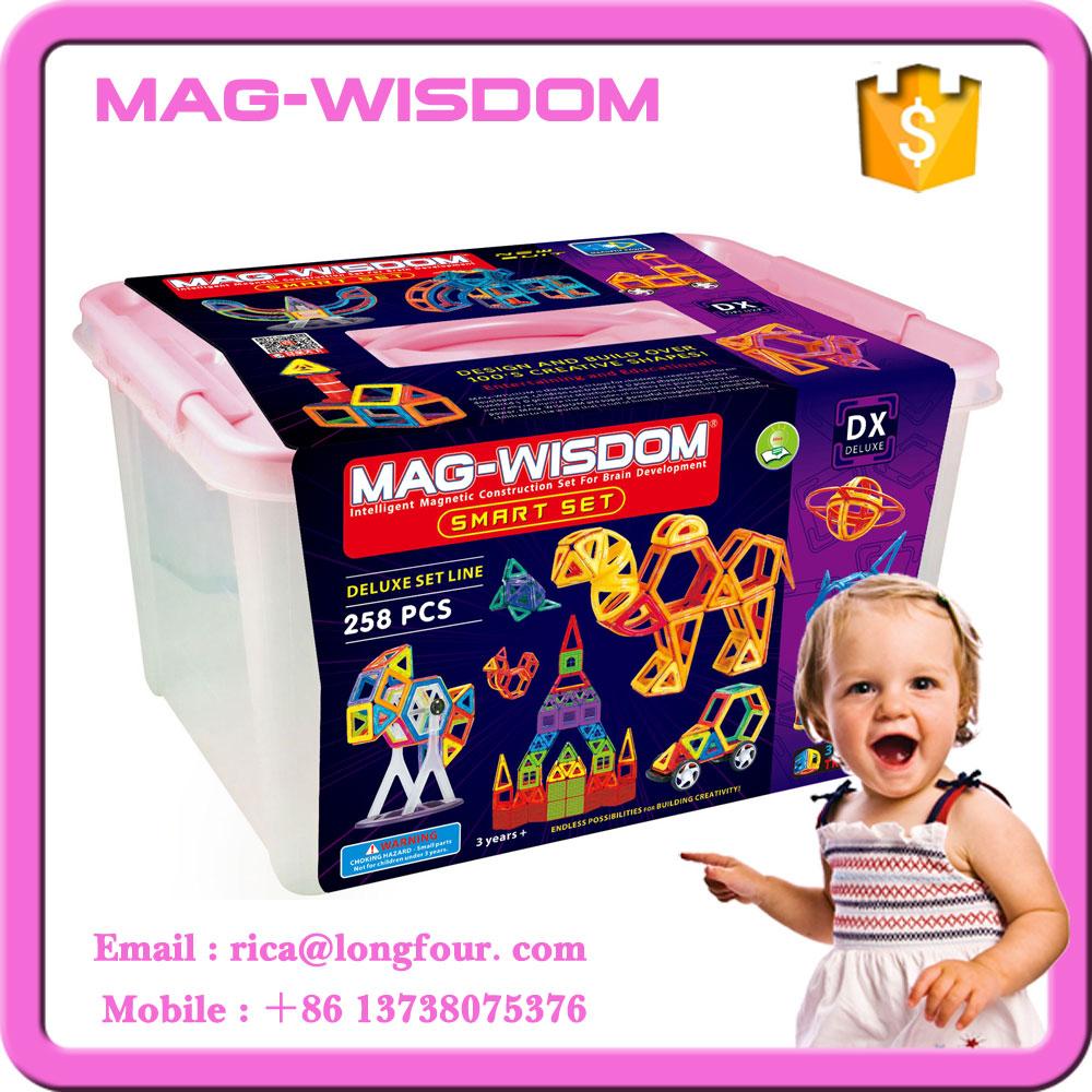 258 PCS 2016 MAG-WISDOM Jouets Éducatifs similaires à Magformers