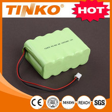 12V NI-MH high quality rechargeable battery pack size AA 1200mah