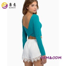 OEM summer/autumn high quality cotton women clothing,t-shirts