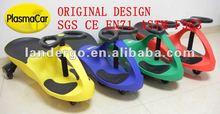 CE EN71 Fresh Plastic Pedal Car,plasma wiggle car (Max loading Weight:130kgs)