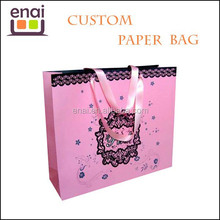 birthday packing paper bag for girls paper gift bag with animal printing