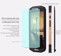 Three proofings quad core unlocked 2G/3G/4G mobile phone