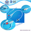 Silicone Foley Catheter with temperature probe with CE