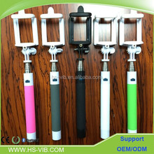 selfie stick cable carbon with good quality and nice design for 2015 tripod for ipad and hot selling now