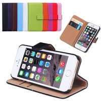 BRG Hot Wallet Flip PU Leather Case For Apple iPhone 5/5S Magnetic Case with Photo Frame Card Holder Smart Stand Skin Bags