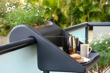 Balcony plant pot balcony table balcony dining coffee table