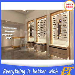 Professional Customized Shop Showcase And Optical Store Design