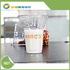 New design of 2013--7/12/15oz clear disposable plastic sundae cups with special lids, could be printed upto six colors by Dongsu