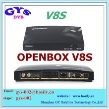 Original Openbox V8S satellite receiver V8 with UK TP support 2xUSB USB Wifi WEB TV Weather Forecast