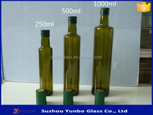 China Manufacturer Antique Green Glass Olive Oil Bottle for Sale, Wholesale Brown Olive Oil Bottles in Stock