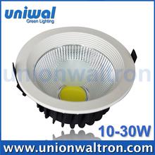 Wholesale Dia Casting Aluminum Recessed COB LED Ceiling Downlight 5W 10W 15W 20W 30W Light Fixtures