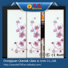 2015 High-quality Colored Glittering Tempered Glass for Decoration
