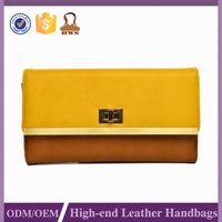 2015Promotional Custom Printed Leather Wallet Clock