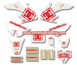 3M GRAPHICS STICKERS for HONDA CRF50 CRF50F 2004-2012 TSX-DGS001