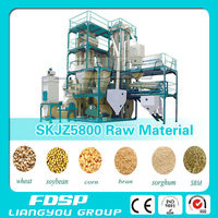 Bird Feed Pellet Project Cattle Feed Pellet Processing Line With Ring Die