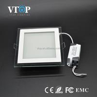 square glass led panel light,super bright panel led,factory price lamp