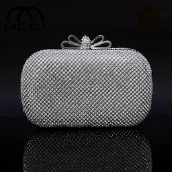 china manufacturer evening clutch bag for women party crystal evening bag and handcee ES439