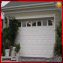 Hot Sectional garage door,automatic windows insert garage door