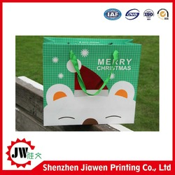 New fashion high quality greaseproof brown paper bag