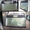 ZHONGTONG bus front safety tempered windscreen glass