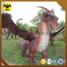 HLT Chinese manufacture garden decoration dragon animatronic