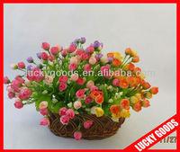 artificial silk flower rose bushes