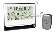5 days weather forecast alarm clock meet CE and RoHS S3607W