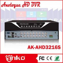 New arrival 16 Ch h 264 full d1 dvr Grain 8210 Output BNC/HDMI/VGA