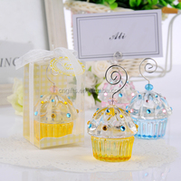 Crystal Cake Place card Holders Wedding Decoration Party Supplies