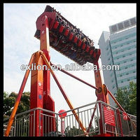 promotion! amusement park attractions top spin big space travel for sale