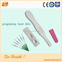 hcg pregnancy test cassette/ hcg pregnancy test strip,hcg pregnancy test kit