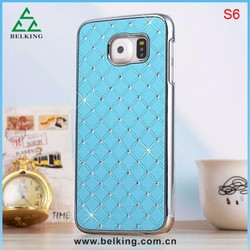 Full Star Crystal Bling Diamond Plastic Phone Case For Samsung Galaxy S6