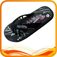 new design printing five fingers slippers
