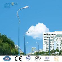 7m Polygon Street Light Pole , hot dip galvanized lamp post, lamp column