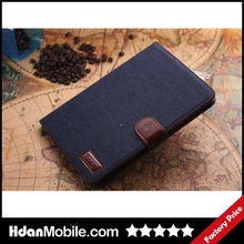 2014 Fashion New Design Tablet Case WaterProof Jean Protector Cover For iPad mini2
