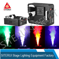 2015 new 24pcs*3W double angle color smoke effect stage LED fog machine