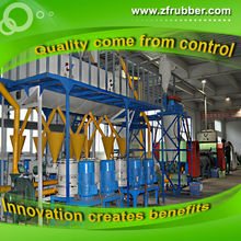National Patent Rubber Powder Production Line / Waste Tire Recycle Plant Project