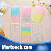 contrast bling bling transparent back cover case for iphone 6