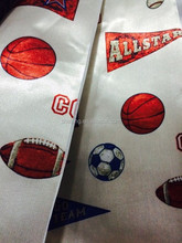 baskete ball design of 100% polyester printed blac kout curtain fabric for window curtan