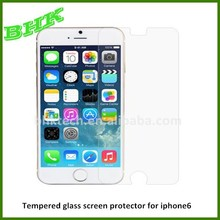 HD liquid nano tempered glass screen protector for iphone6 ,high clear screen protector for iphone 6