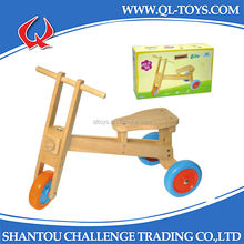 2014 New style kids Wooden tricycle toys,safety baby tricycle,ride on car