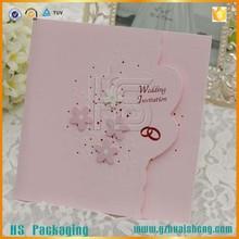 Venta al por mayor modelos únicos invitaciones de boda tarjetas