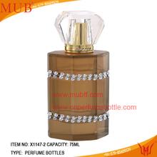 decorar dulce botella de perfume con el rociador para el regalo o venta al por mayor de escarda
