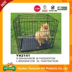 High Quality Strong Stainless Steel Dog Cage