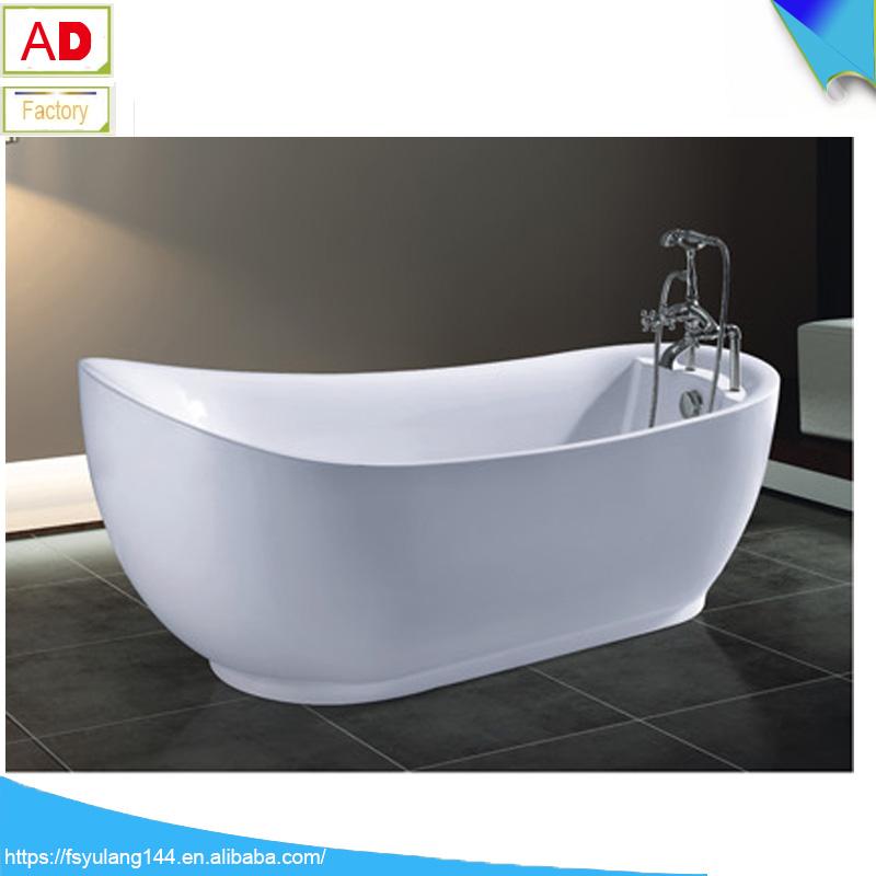 Ad-6627 Dubai Hot Tub Deep Soaking Tubs Freestanding Oval Bathtub ...
