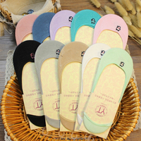 Wholesale Premium Quality No Show Socks For Women Large Silicon Heel Grip